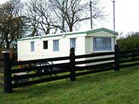 Our holiday caravan in Pembrokeshire